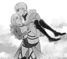 Armin, Eren And Mikasa, Attack On Titan Funny, Attack On Titan Fanart, Attack On Titan Ships, Anime Siblings, Cute Anime Couples, Snk Annie, Bts Anime