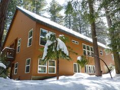 Shaver Lake Cabin Rental: Spacious Lodge In Deep Woods, Multi-family Retreat, Wireless Internet, Play Pool | HomeAway 1485plus sleeps 20