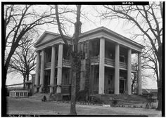 WESLEY PLATTENBURG HOUSE aka DR KILPATRICK HOUSE, 601 Washington St, Selma, AL. Address was 1009 North Lapsley St. Side and front view. The House was recorded by the 1935 Historic American Building Survey and is listed in the National Register of Historical Places. Historic American Buildings Survey W N Manning, Photographer. 03.22.1934