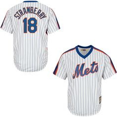 Darryl Strawberry New York Mets Majestic Cool Base Cooperstown Collection Player Jersey - White - $119.99