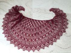 Ravelry: Osmanthus Shawl pattern by Ellen Wright Knitted Shawls, Crochet Shawl, Crochet Lace, Lace Shawls, Knitting Paterns, Lace Knitting, Stitch Witchery, Shawl Patterns, Lace Scarf