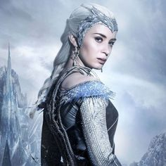 Pin for Later: Emily Blunt and Chris Hemsworth Look So Good It Hurts in The Huntsman Sequel Posters