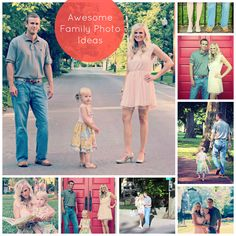 Family Photo Shoot Ideas