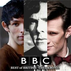 BBC makes so much sense to me now.Anyone notice how 2 out of 3 of these shows are related towards some past history: Merlin and Sherlock<<<so is Doctor who, he travels in time dummy Colin Morgan, 11th Doctor, Doctor Who, Johnlock, Benedict Cumberbatch, Merlin, Fandom Crossover, Fandoms Unite, Martin Freeman