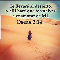 MUCHAS VECES NOS ALEJAMOS DE DIOS Y DIOS PERMITIRÁ SITUACIONES DIFICILES EN NUESTRA VIDAS #desierto PARA QUE NOS VOLVAMOS NUEVAMENTE A ÉL!!! #telleveréaldesierto #enamoratedeDios #otravez #postales_cristianas_poderosas Gods Love Quotes, Quotes About God, Faith Quotes, Life Quotes, Christian Love, Christian Quotes, Biblical Verses, Bible Verses, Bible Notes