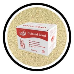 Sandtastik Colored Play Sand-10 lbs. Beach Sand