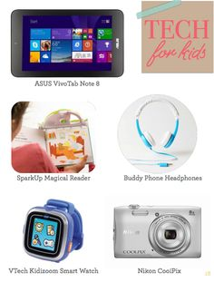 Cool tech gifts for kids from tweens to tots. http://issuu.com/katemarshlord/docs/holiday_shopping_guide_final/18