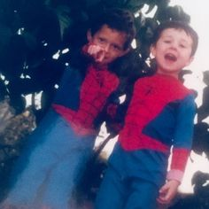 Happy Birthday Tom. Haven't quite mastered the Spider-Man pose yet here. #spiderman #liketodressup    Posted by Nikki Holland!   Thank You Nikki!!