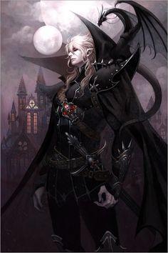 kain (gran vampiro) +recibe poder de sus hijos +desciende de un dragón