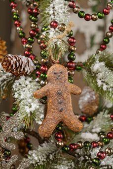 gingerbread man on Christmas tree