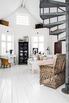 wit naar dak als plafond eruit is