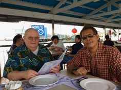 Aladino Nibley - My Dad and Me @ Harbour View Manila Picture taken January 29, 2017