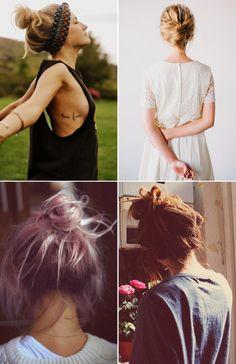 beauty inspo: hair buns
