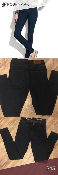 Re posh skinny skinny high riser madewell jeans These are just too small for me! NWOT. Perfect condtion. Madewell Jeans Skinny