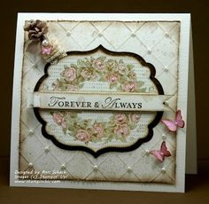 Definitely going to make this one at my next coffee and a card class, so pretty!!