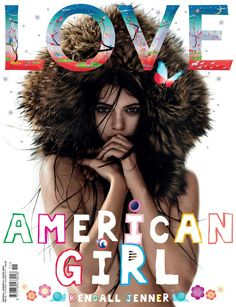 Kendall Jenner for the Love  Magasine