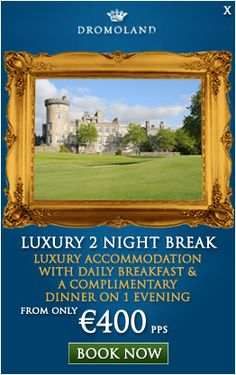 5 Star Hotels Ireland, Castle Hotels Ireland, Luxury Hotels Ireland, Irish Five Star Hotels - Dromoland Castle Golf and Spa Resort Co Clare