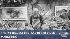 We've done hundreds of videos, but we've seen many mistakes. The biggest one we've seen in Videos repeats itself over and over. Marketing Videos, Animated Gif, Mistakes, Animation, Create, Books, How To Make, Libros, Book