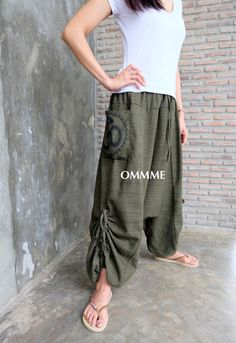 Pantalones de harén OMMME nuevo 047 por Ommme en Etsy