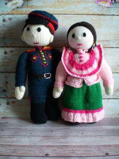 Toy Doll Knitted Amigurumi Plush Nursery Decor Easter decor