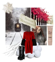 """Winter Wonderland"" by divatmalom on Polyvore featuring Mode, Crate and Barrel, Albino, Dot & Bo, Too Faced Cosmetics, fashionista, fashionblogger, fashiontrend und winterstyle"