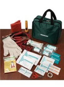 Promotional Products Ideas That Work: 39 Pc Roadside First Aid Kit. Get yours at www.luscangroup.com