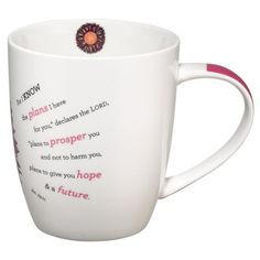 For I Know the Plans, Flower Mug