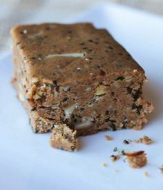 No Bake Nut Butter Protein Bar