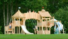 What a play structure!