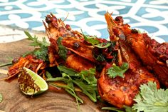 Craving some wok-fry this Wednesday? Come in to #MoorishBlue today try our delicious wok-fried, Harissa prawn dish!