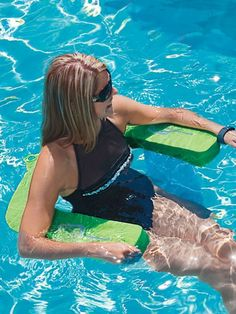 Aqua Swing - Stay cool in the pool and keep your hair dry with Aqua Swing. Comfortable pool