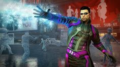 Agents of Mayhem is a goofy team-based shooter in the Saints Row universe