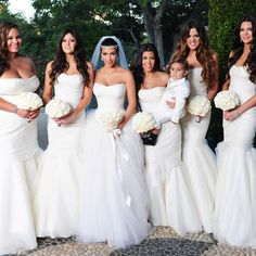 kim kardashian wedding those dresses though