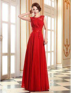 Vestido - Longo Linha-A - Jóia – BRL R$ 205,17