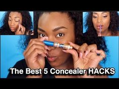 THE 6 BEST CONCEALER HACKS YOU NEED TO KNOW -IRISBEILIN - YouTube