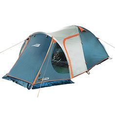 NTK Indy GT 3 to 4 Person 12 by 7 Foot Sport Camping Tent 100 Waterproof 2500mm >>> Check out this great article. #CampingTentsandShelters