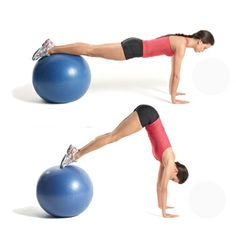 abs with exercise ball