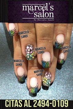 Mis trabajos en uñas  Marcela Sandí Marcel's Salon  Info: 2494-0109 Grecia, Costa Rica