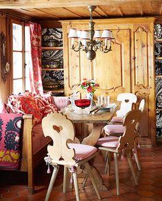 Michelle Nussbaumer Gstaad kitchen, photo Melanie Acevedo for Veranda
