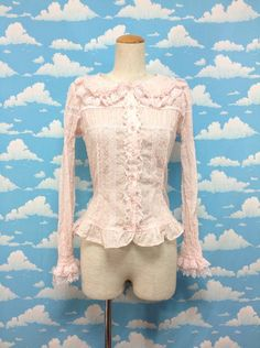 Sugar Pansy Blouse in Pink from Angelic Pretty - Lolita Desu