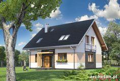 Projekt domu Pączek bez garażu