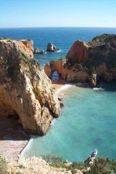 Praia Tres Irmaos, Alvor, Portugal