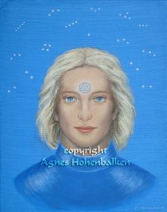 Lord Ashtar: Star Born Gifts, Starseed artwork,Star Seed Paintings, Star Guide Portraits