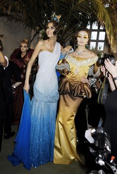 John Galliano for Christian Dior Fall Winter 2007/8 Haute Couture