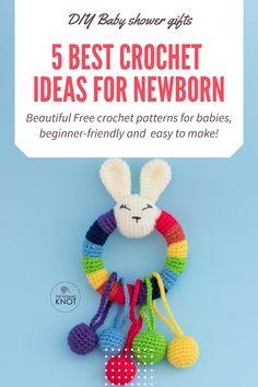 Newborn Crochet Patterns, Crochet Blanket Patterns, Baby Blanket Crochet, Crochet Baby, Free Crochet, Amigurumi Patterns, Diy Crochet Doll, Crochet Gifts, Crochet Security Blanket