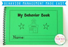 Behavior Management Made Easy! Packet includes editable behavior book, behavior documentation form, student contract, rules poster w/ worksheet, behavior expectations activity, sticker charts, reward notes, reward tickets and more!