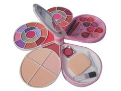 ADS+Color+Series+26-Eyeshadow,+2-Blusher,+4-+Powder+Cake,+8-Lipcolour+Fine+A3969+Price+₹419.30