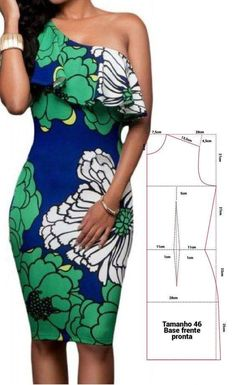 Clothes Crafts, Sewing Clothes, Clothing Patterns, Dress Patterns, Costura Fashion, Gown Pattern, Make Your Own Clothes, Dress Tutorials, Striped Fabrics