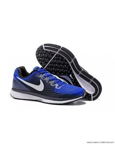 size 40 d88b0 445d0 Nike Air Zoom Pegasus 34 Release Running Blue Gray White Shoes Special offer
