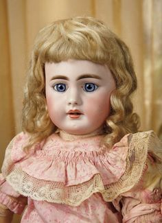 Sanctuary: A Marquis Cataloged Auction of Antique Dolls - March 19, 2016: French Bisque Child Doll, 939, by Simon and Halbig for the French Market